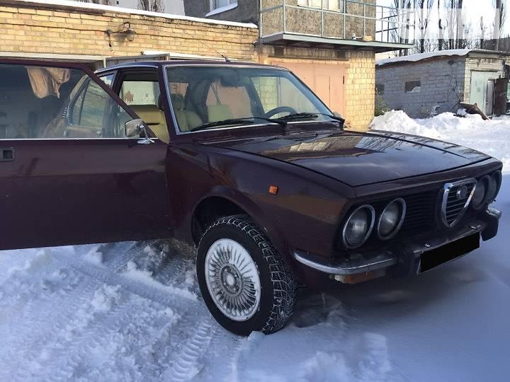 Alfa Romeo Alfetta 1979 года в Киеве