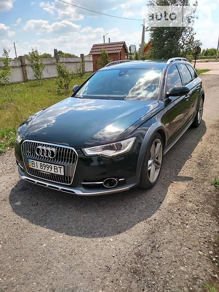 Audi A6 allroad quattro 2013 года