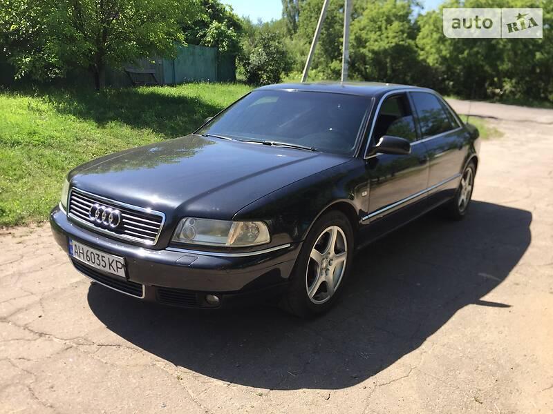 Седан Audi A8 2002 в Краматорську