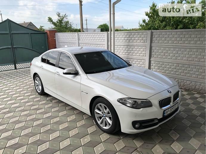 BMW 5 серия 2016 року в Запоріжжі