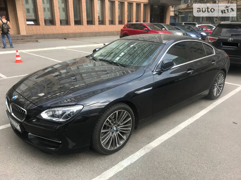 BMW 6 Gran Coupe 2013 года