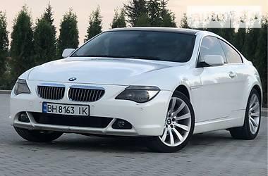 BMW 630 2007 в Одессе