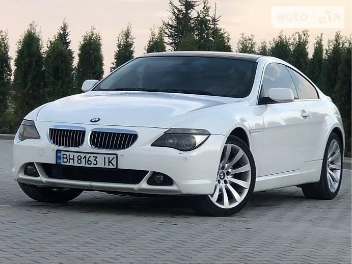 Купе BMW 630 2007 в Одессе