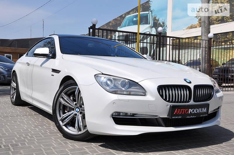 BMW 6 2012 года