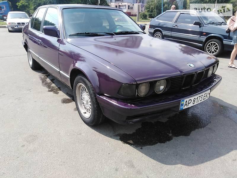 Седан BMW 730 1987 в Запорожье