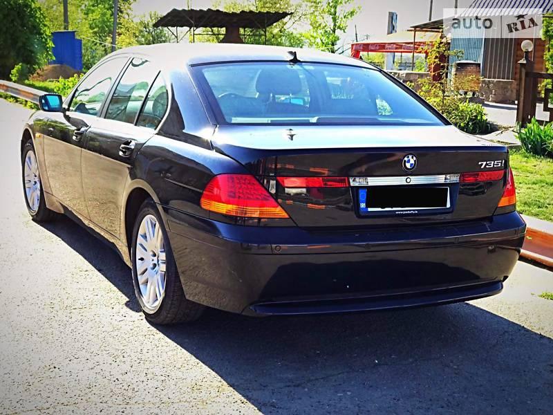 BMW 735 2004 в Одессе