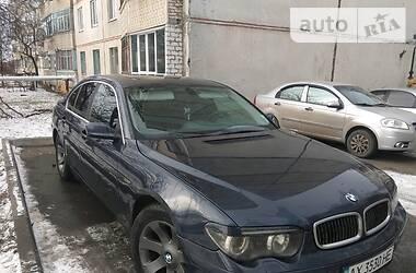 Седан BMW 735 2002 в Харькове