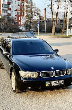 BMW 735 2004 в Черновцах