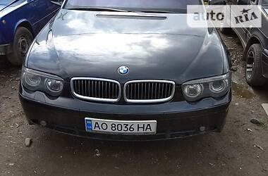 Универсал BMW 740 2002 в Ужгороде