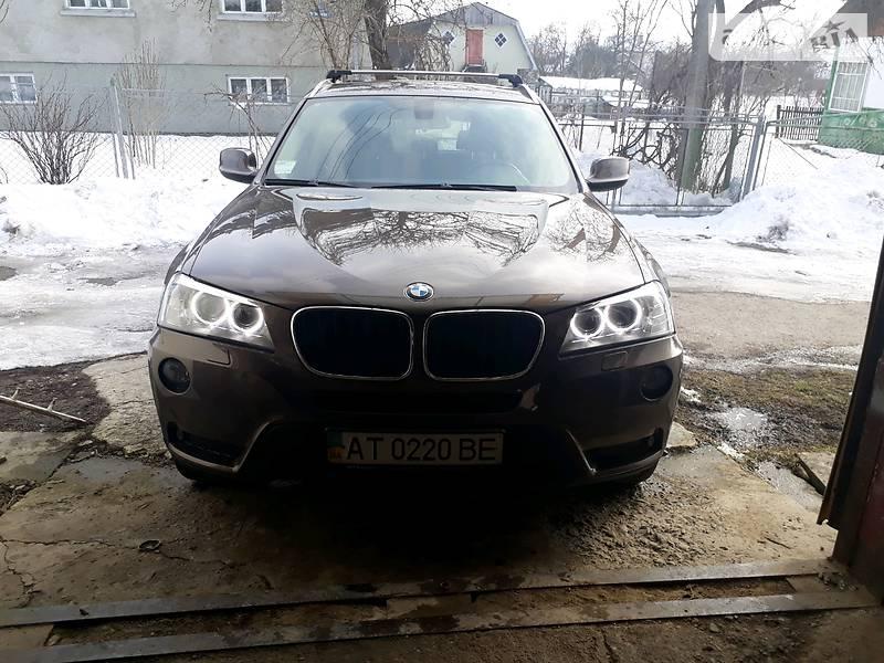 BMW X3 2012 року в Івано-Франківську