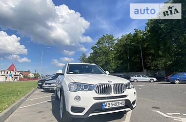 Внедорожник / Кроссовер BMW X3 2016 в Виннице