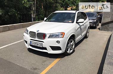 Внедорожник / Кроссовер BMW X3 2013 в Киеве
