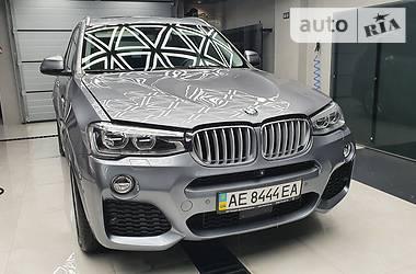 Внедорожник / Кроссовер BMW X3 2016 в Днепре