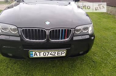 Внедорожник / Кроссовер BMW X3 2008 в Калуше