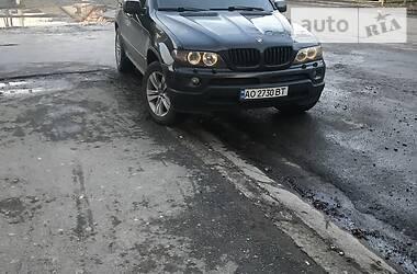 Внедорожник / Кроссовер BMW X5 2004 в Тячеве