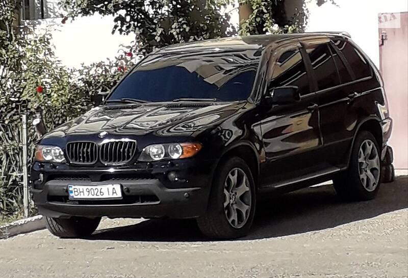 Позашляховик / Кросовер BMW X5 2003 в Одесі