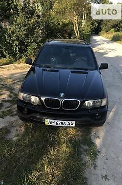 Внедорожник / Кроссовер BMW X5 2000 в Житомире