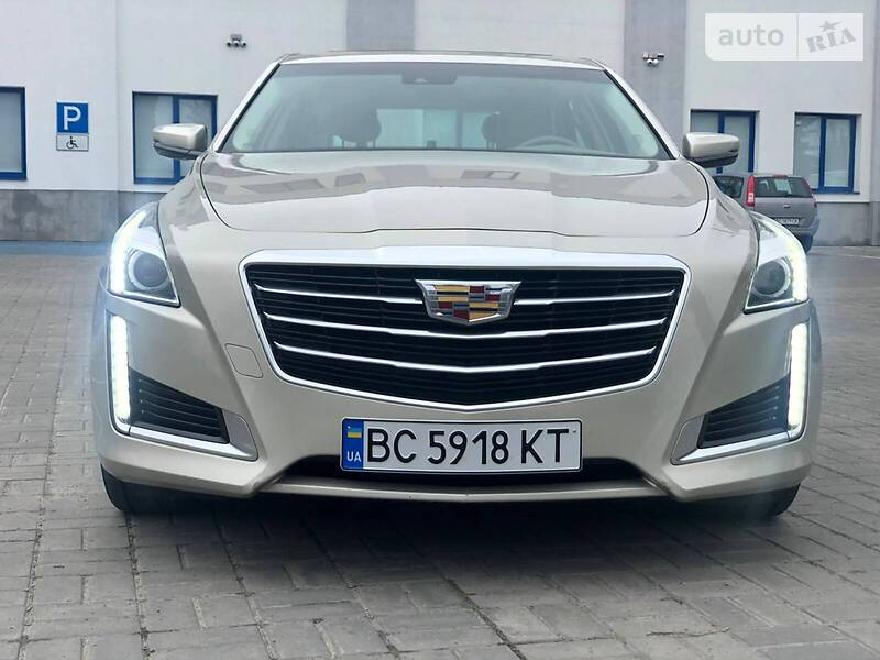 Cadillac CTS 2014 в Львове