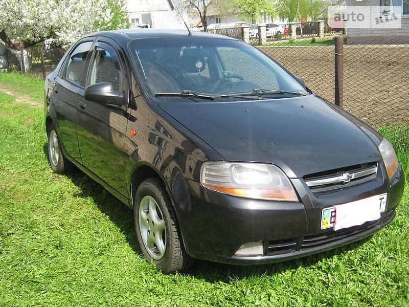 Chevrolet Aveo 2005 в Львові