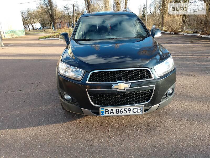 Позашляховик / Кросовер Chevrolet Captiva 2011 в Кропивницькому