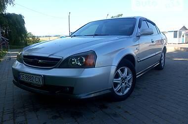 Седан Chevrolet Evanda 2005 в Черновцах
