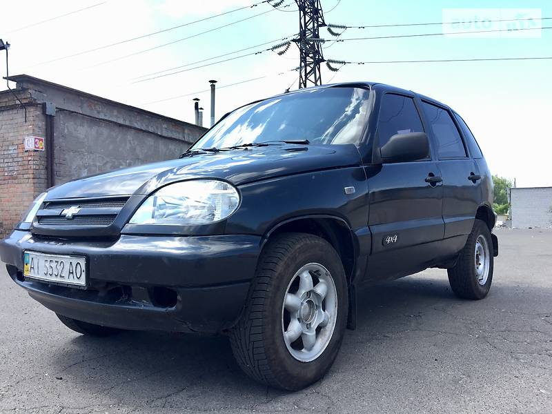 Chevrolet Niva 2006 року