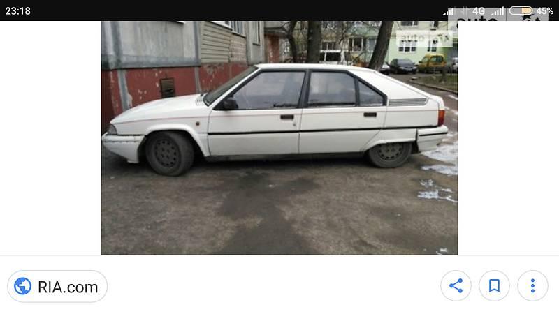 Citroen BX 1989 года в Чернигове