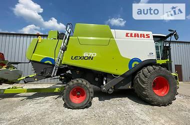Комбайн зерноуборочный Claas Lexion 670 2013 в Звенигородке