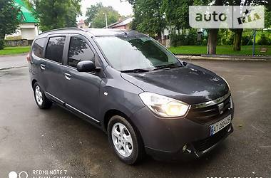 Dacia Lodgy 2013 в Долине