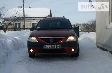 Dacia Logan MCV 2007 в Збараже