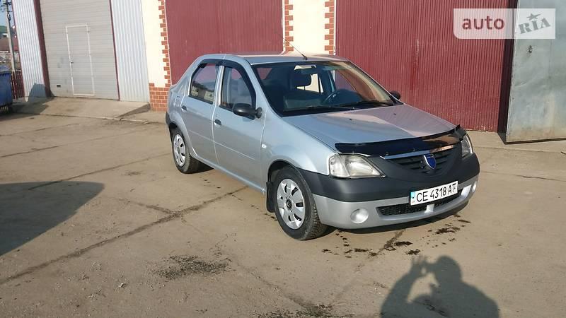 Dacia Logan 2008 года в Черновцах