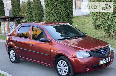 Седан Dacia Logan 2006 в Хмельницком