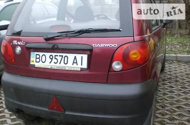 Daewoo Matiz 2007 в Тернополе