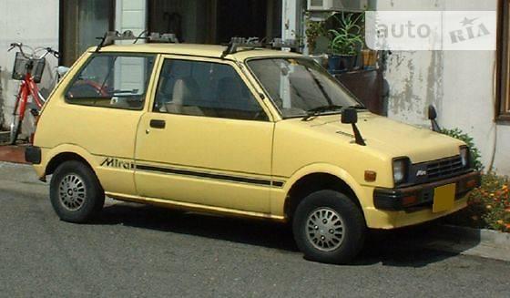 Daihatsu Mira 1985 року в Києві