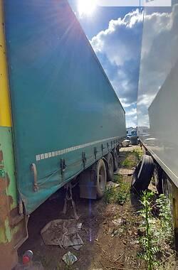 Тентованный борт (штора) - прицеп Dapa S27 1995 в Измаиле