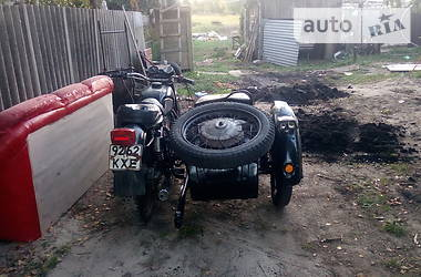Мотоцикл Классік Днепр (КМЗ) МТ-10 1977 в Бучі
