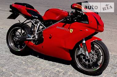 Ducati 749 s TESTASTRETTA 2003