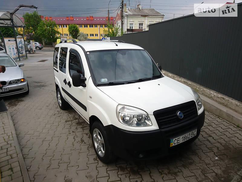 Fiat Doblo пасс. 2007 в Черновцах