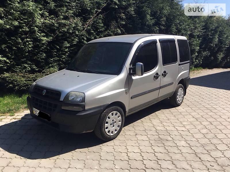 Fiat Doblo пасс. 2003 в Львове