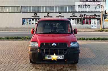 Легковой фургон (до 1,5 т) Fiat Doblo пасс. 2004 в Хмельницком