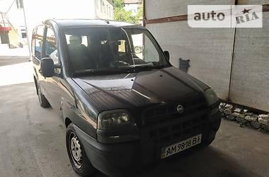 Хэтчбек Fiat Doblo пасс. 2004 в Житомире