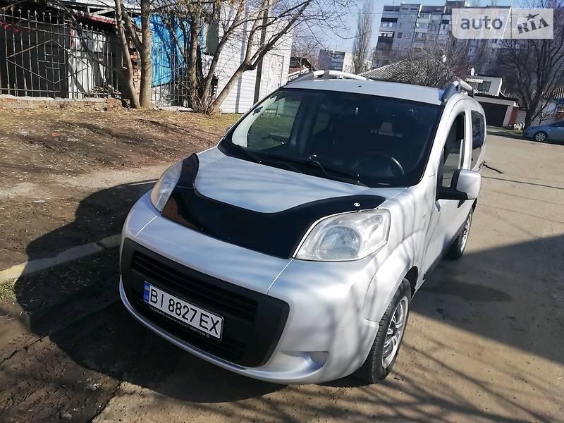 Унiверсал Fiat Qubo пас. 2010 в Кременчуці