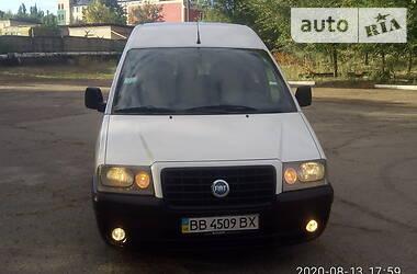 Легковой фургон (до 1,5 т) Fiat Scudo груз.-пасс. 2005 в Рубежном