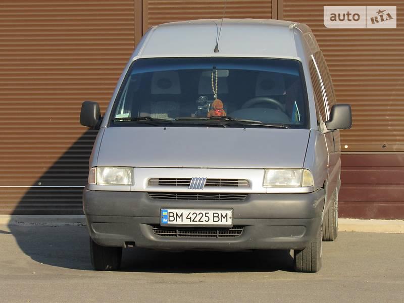 Fiat Scudo пасс. 2000 года в Сумах