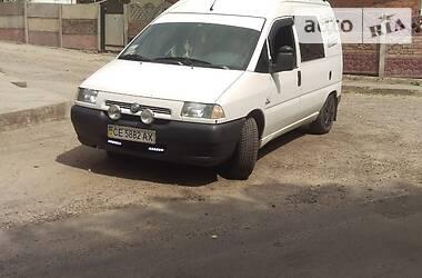 Fiat Scudo пасс. 2001 в Черновцах