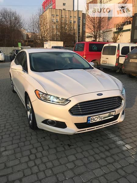 Ford Fusion 2013 года в Львове