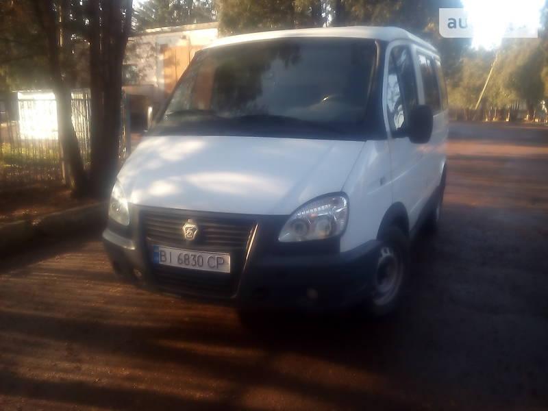 ГАЗ 2217 Баргузин 2004 в Лубнах
