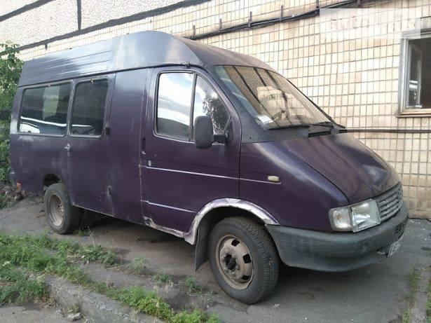 Легковий фургон (до 1,5т) ГАЗ 3221 Газель 1996 в Кривому Розі