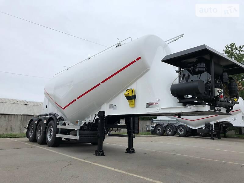 Цистерна напівпричіп Guven Makina V-type 2021 в Києві