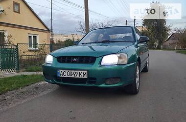Hyundai Accent 1999 в Луцке